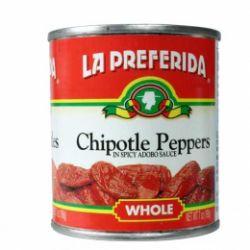 Chipotle Pepers in Adobo Saus / La Preferida
