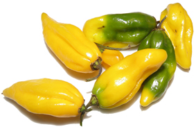 Verkleurende pepers